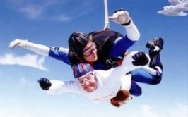 Harry goes Skydiving