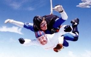 Harry goes Skydiving