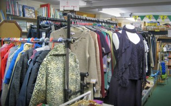 A Collection of clothes inside our shop.