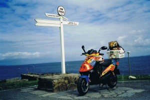 Harry at John O'Groats