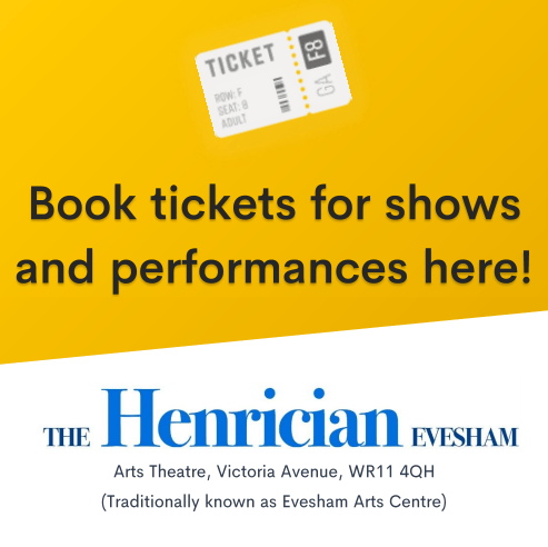 Book Tickets for Shows and performances here! At the Tracy Sollis Trust Evesham.