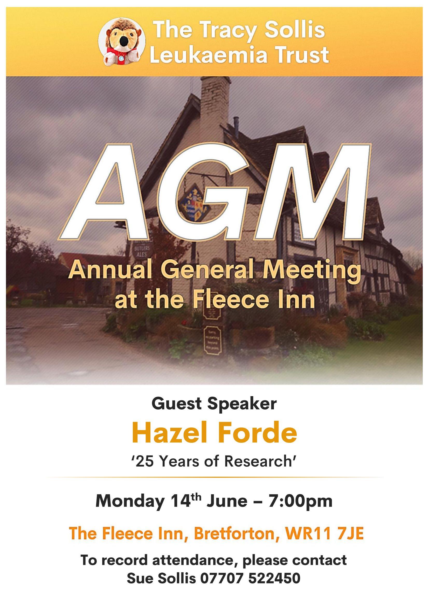 AGM – Annual General Meeting