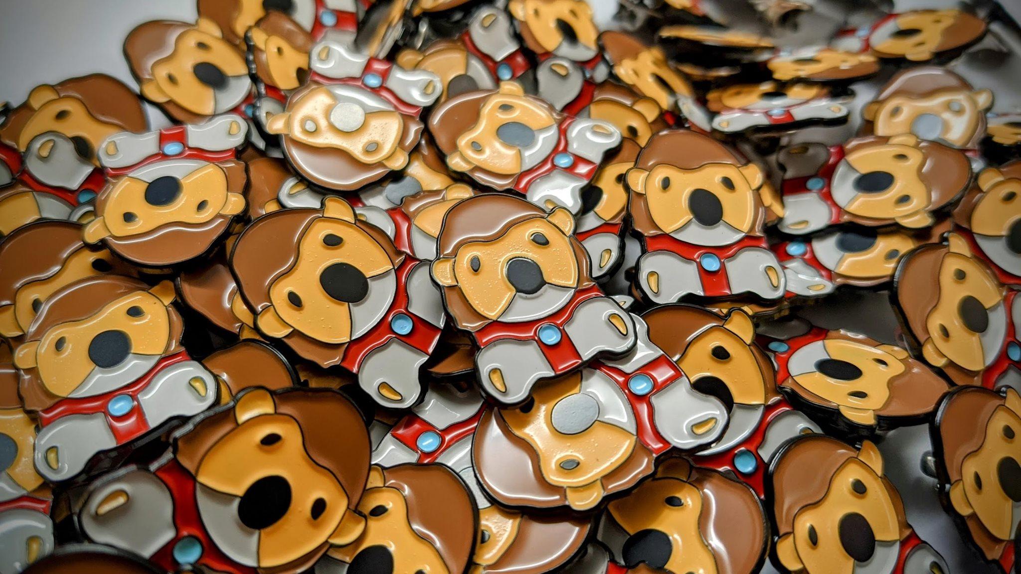 Harry Hedgehog Charity Pin Badges